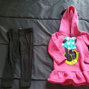 girl size 18 Minnie Mouse set